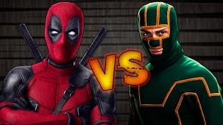 Deadpool VS Kick Ass   Batalla de Rap   Rouchy & Sonic   Español