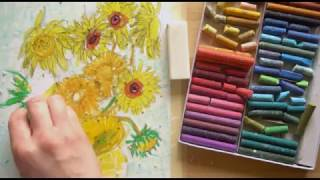 Download Vincent Van Gogh Oil Pastel Tutorial Video
