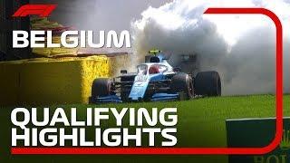 2019 Belgian Grand Prix: Qualifying Highlights
