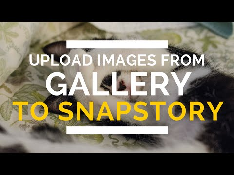 How to Upload Snapchat Story image from Gallery (NOV'15) | AndroTrix