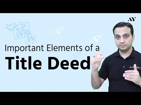 Title Deed in Real Estate - Explained