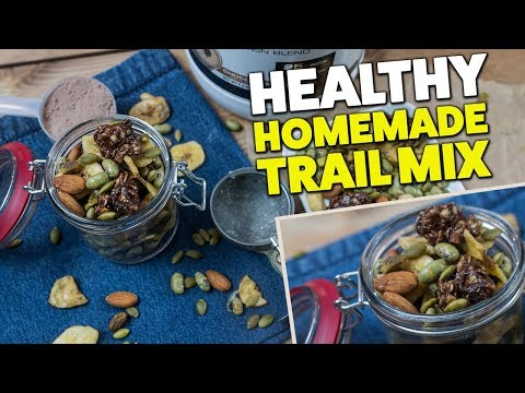 Bodybuilding PROTEIN Trail Mix Recipe