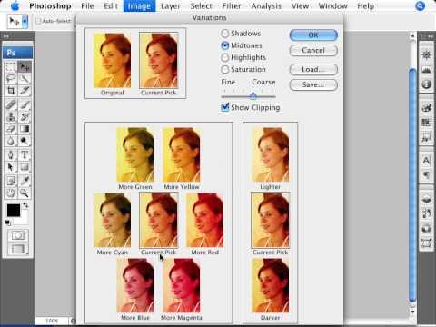 Learn Photoshop - How to Correct White Balance