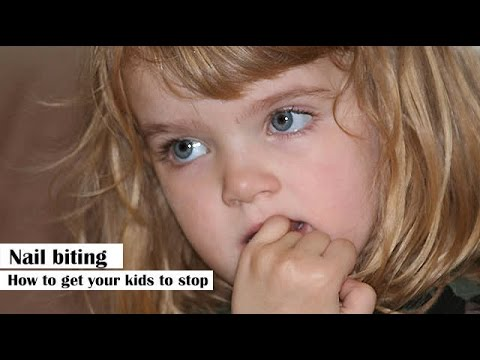Nail biting - How to get your kids to stop