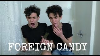 Trying Foreign Candy!