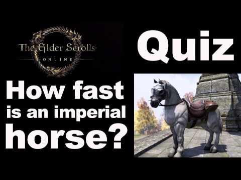 Elder Scrolls Online, White Imperial Horse!