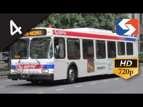 SEPTA Ride: 2001 New Flyer D40LF #5497 on route 4 to Fern Rock Transportation Center