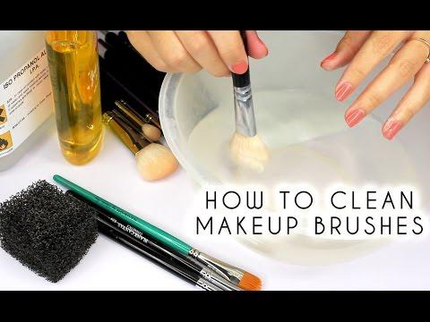 3 Ways To Clean MakeUp Brushes | Shonagh Scott | ShowMe MakeUp