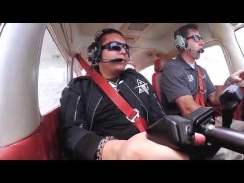 Buffalo Wild Wings employee flies over the Grand Canyon