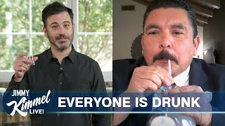 Jimmy Kimmel's Quarantine Monologue – Alcohol Sales Spike, Trump is #1 & O.J. on the Tiger King