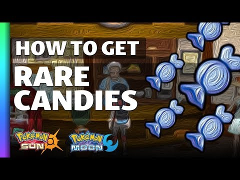 HOW TO GET Rare Candies in Pokemon Sun and Moon