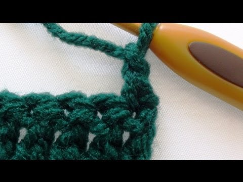 Alternative Double Crochet Turning Chain - Double Crochet Turning Chain
