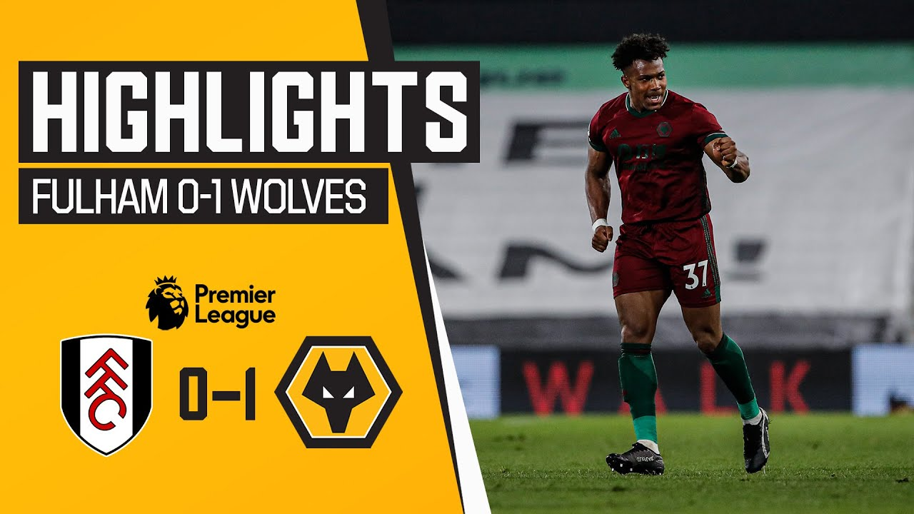 ADAMA WINS IT IN STOPPAGE TIME! | Fulham 0-1 Wolves | Highlights