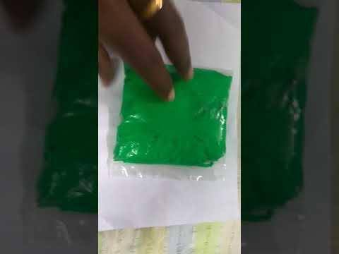Baby footprint clay