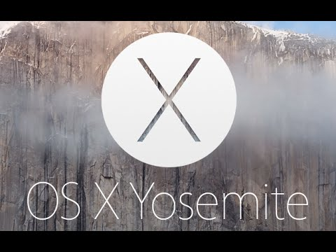 Sortie officielle de OS X 10.10 Yosemite Golden Master - Keynote octobre 2014
