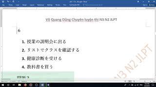 Listening+JLPT+N3 Videos - 9tube tv