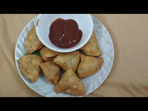Mini samosa recipe in hindi(namkeen  ke Khasta samosa)