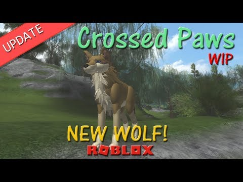 Roblox - Crossed Paws - New Wolf! - HD