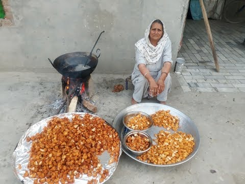 FARM FRESH GOBI PAKORA RECIPE prepared by my granny   CAULIFLOWER snack recipe  gobhi pakoda recipe