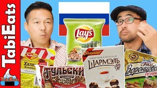 Trying Russian Snacks and Treats