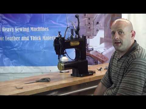 Máquina de coser cuero manual CowBoy OUTLAW