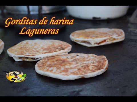 """Como hacer Gorditas de Harina Laguneras """"Las Originales"""" (TOQUE Y SAZÓN)"""