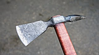 Reforged Old Hammer at Tomahawk Geologist