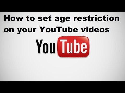 How to set age restriction on your YouTube videos