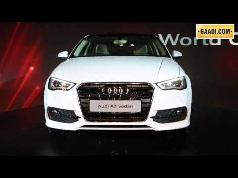 Audi A3 launched in India from Rs 22.95 lakh onwards