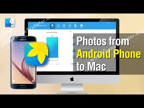 Photos to Mac | How to Transfer Photos from Android Phone to Mac
