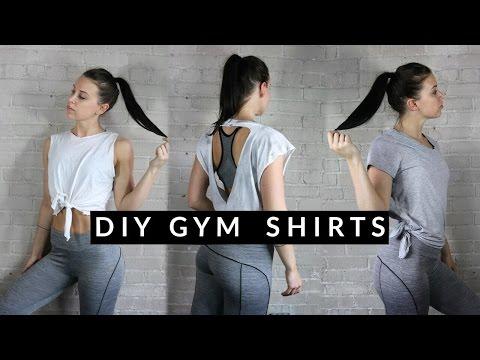 DIY GYM SHIRTS + TANKS