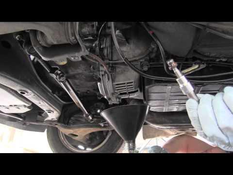 Mercedes How To Drain Torque Converter