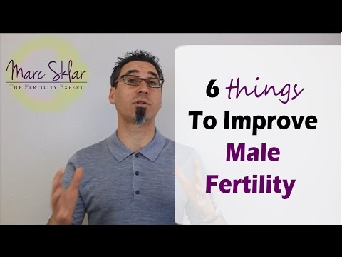 How to improve sperm to get pregnant