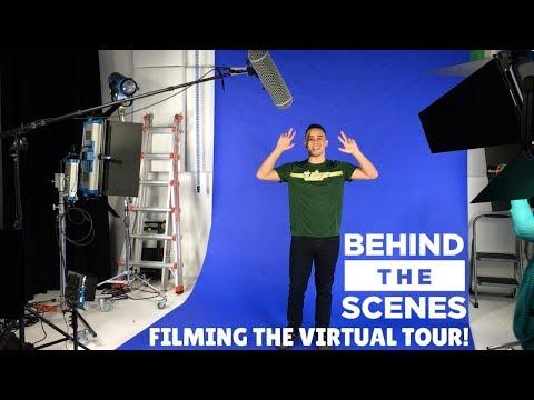 FILMING USF'S VIRTUAL TOUR! (BTS)