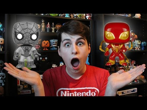 Every Spider-Man Funko Pop Ever!!