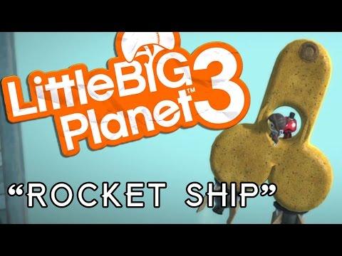 Little Big Planet 3 - Create Mode - Rocket Ship