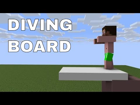 Minecraft animations #8 Diving Board