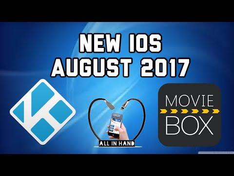 NEW KODI MOVIEBOX on iOS, NO JAILBREAK NO COMPUTER 2017 August