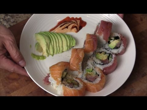 Giant Sushi With Essential Lemon Oil
