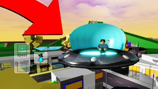Roblox BrookHaven 🏡RP HOW TO GET THE UFO (Alien Spaceship UFO)