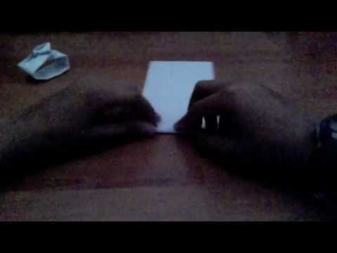 How to make an Origami Tank
