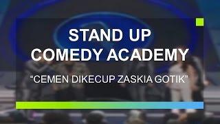 Cemen Sujud Usai Dikecup Zaskia Gotik (Stand Up Comedy Academy Grand Final)