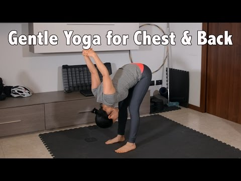 10 min Yoga Stretch for Chest & Back