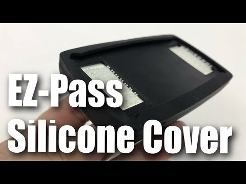EZPass iPass Toll Tag Transponder Silicone Holder Cover Review
