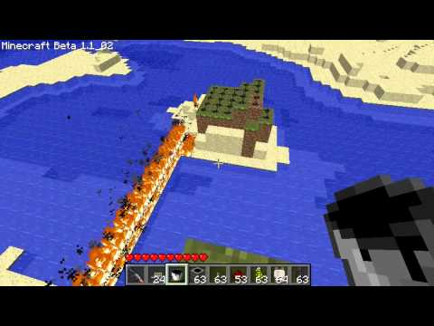Minecraft SDK's Mods Flashbangs, Smoke Grenades, Oil and Parachutes