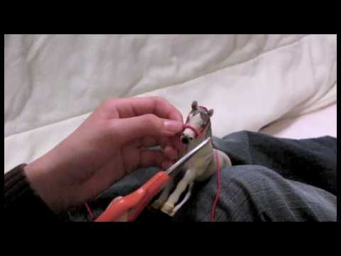 How to Make a Model Horse Halter