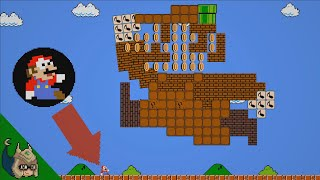 Mario vs the GIANT Robo-Mario Calamity (Mario Cartoon Animation)