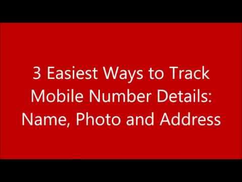 3 Easiest and Free Ways to Find I Track Mobile Numbers Name Photo and Address