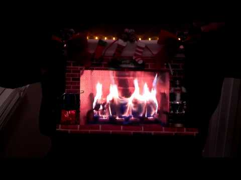 Fireplace Ugly Sweater