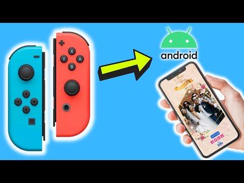 Joy-Cons en Android | COMO CONECTAR LOS  / FACIL / NINTENDO SWITCH